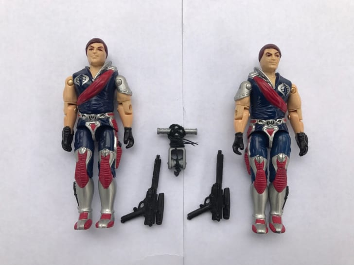 XAMOT & TOMAX GI Joe action figures.