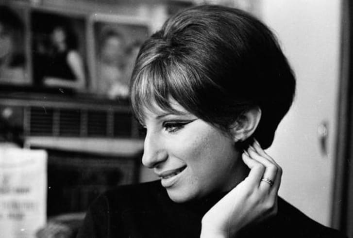 A photo of Barbra Streisand