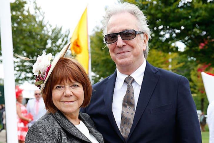 Alan Rickman and Rima Horton