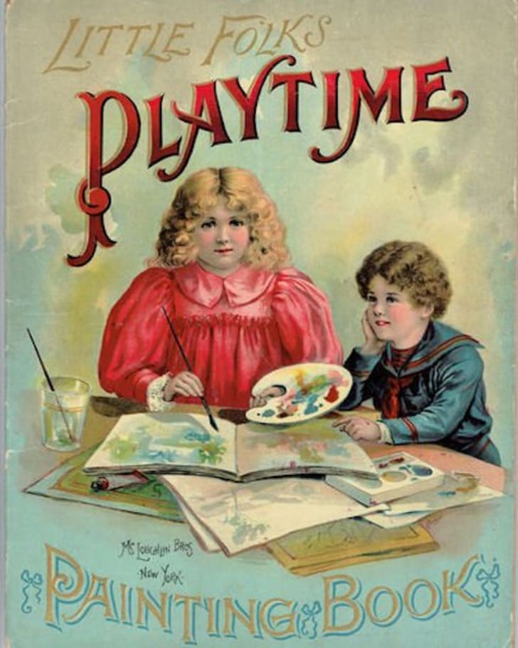 Little Folks' Playtime Painting Book, circa 1898