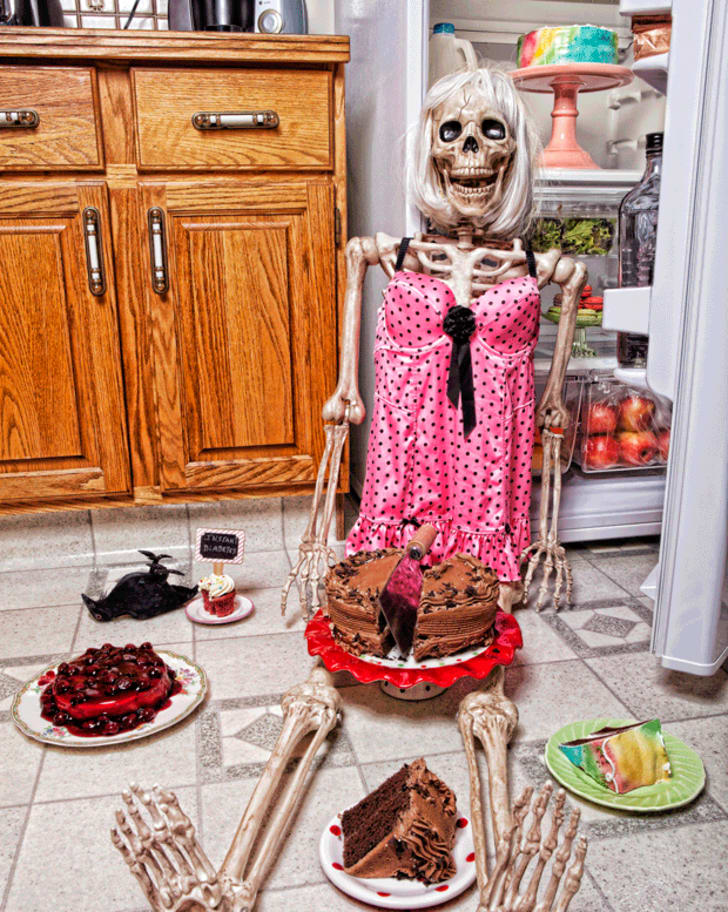A skeleton's diet is blown when a sweet tooth calls in the middle of the night