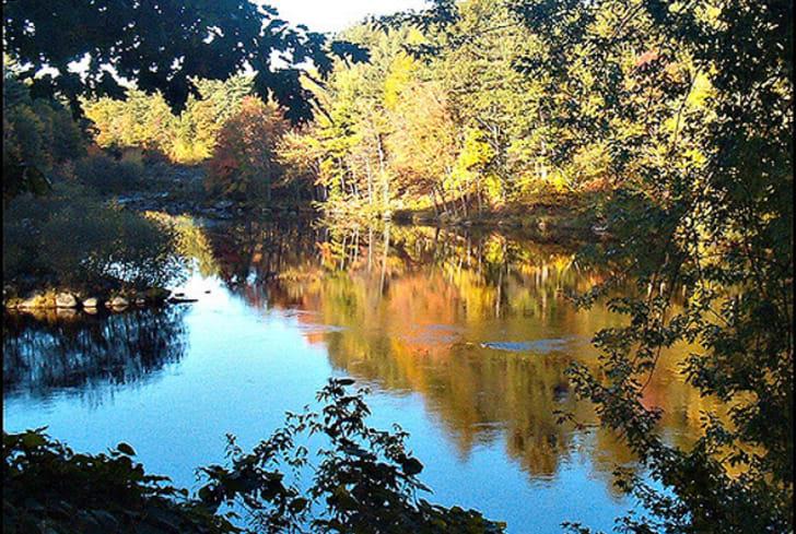 Portsmouth, New Hampshire fall foliage