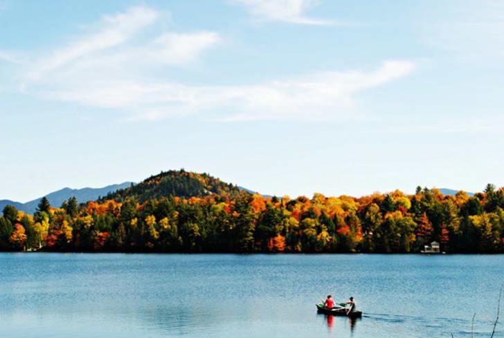 Fall foliage, Lake Placid NY