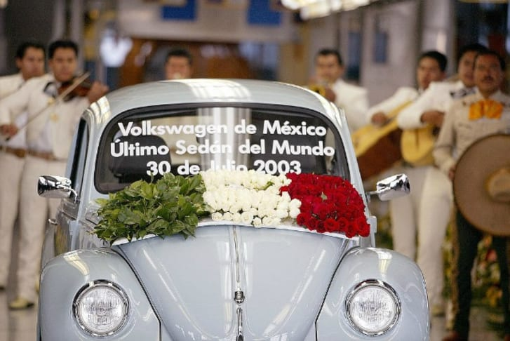 The last VW Bug