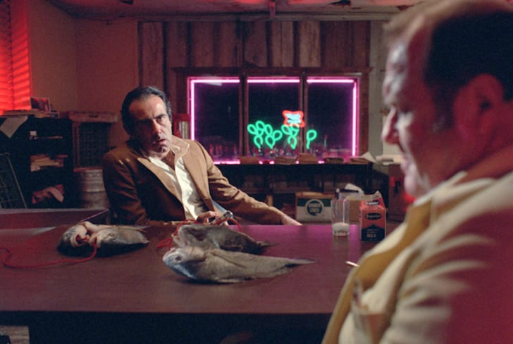 Dan Hedaya and M. Emmet Walsh in 'Blood Simple' (1984)