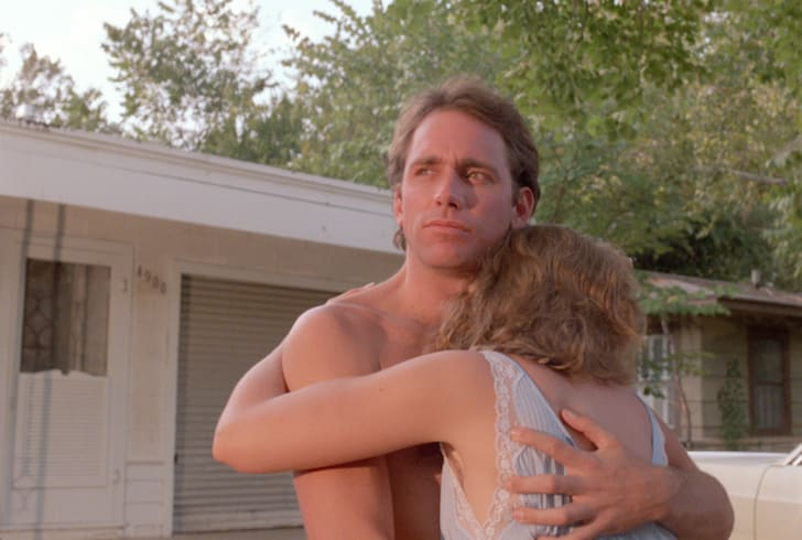 John Getz and Frances McDorman in 'Blood Simple' (1984)