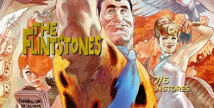 'The Flintstones' comic book from DC Comics