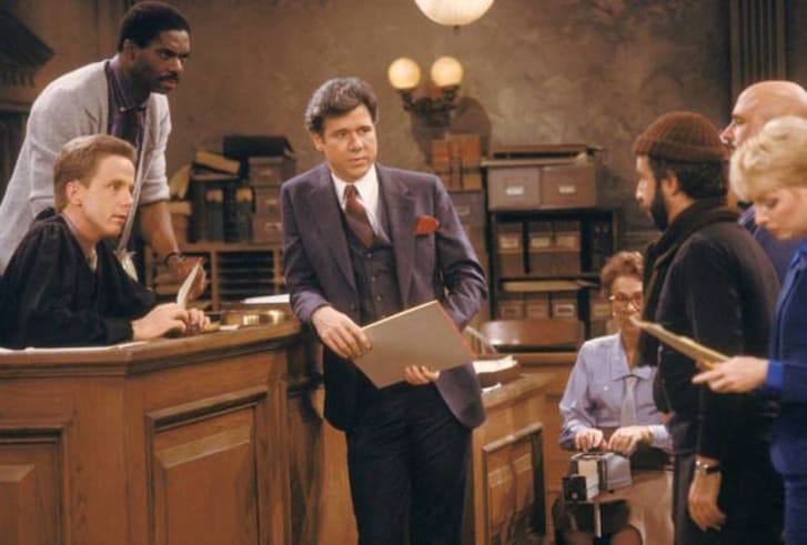 A scene from 'Night Court'