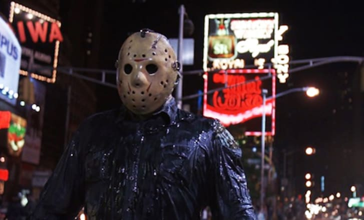Jason Voorhees in 'Jason Takes Manhattan'