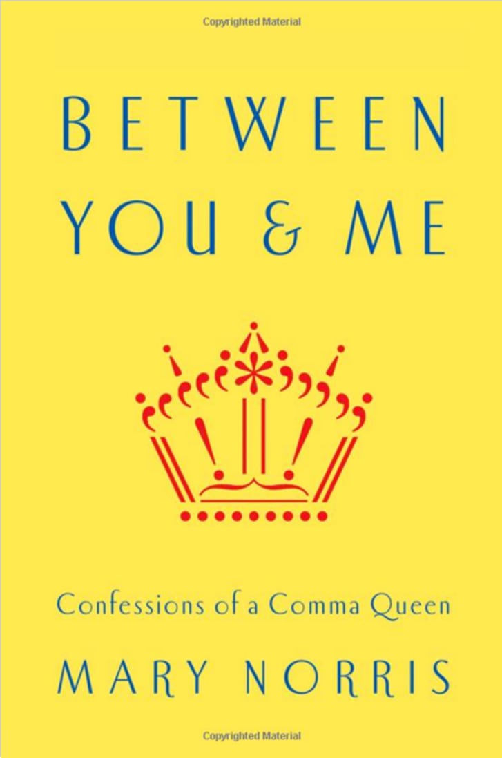 A book called Between You & Me