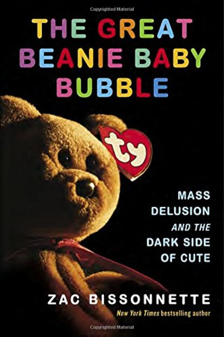 Beanie Baby Bubble book