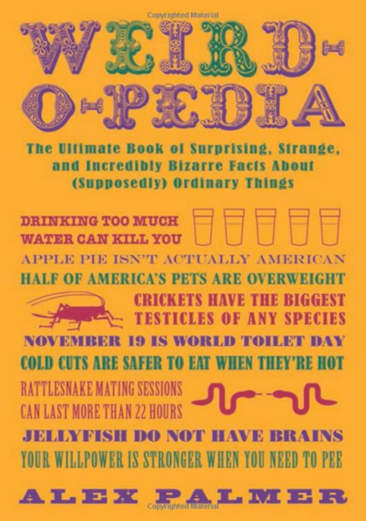 Weird-o-pedia book