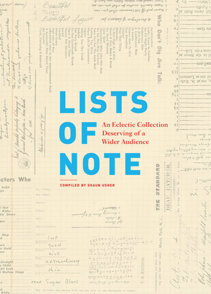 Lists of Note book