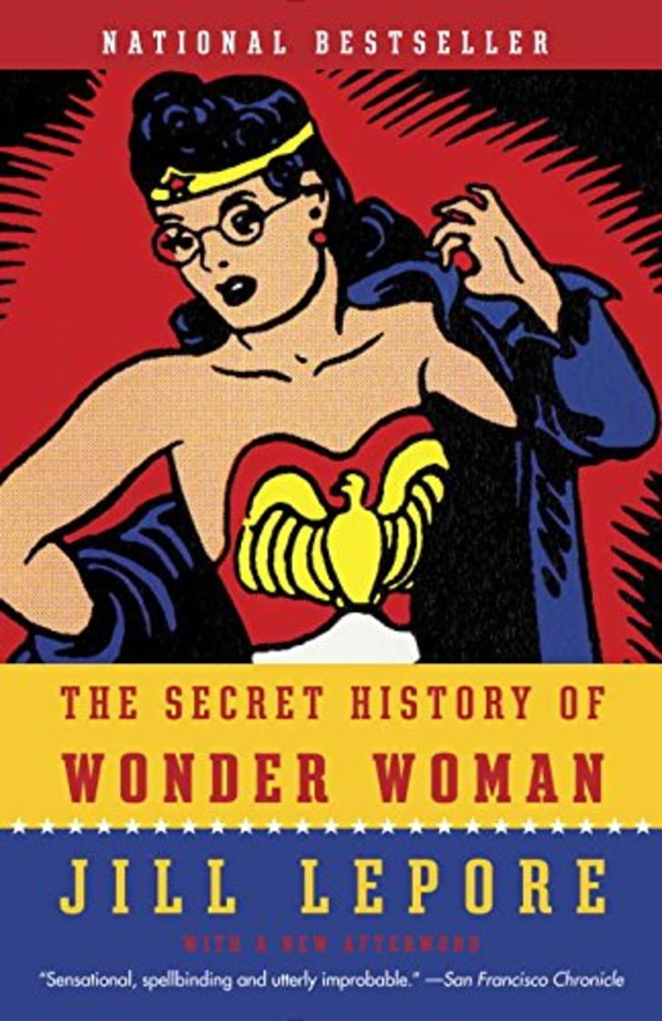 A book about Wonder Woman