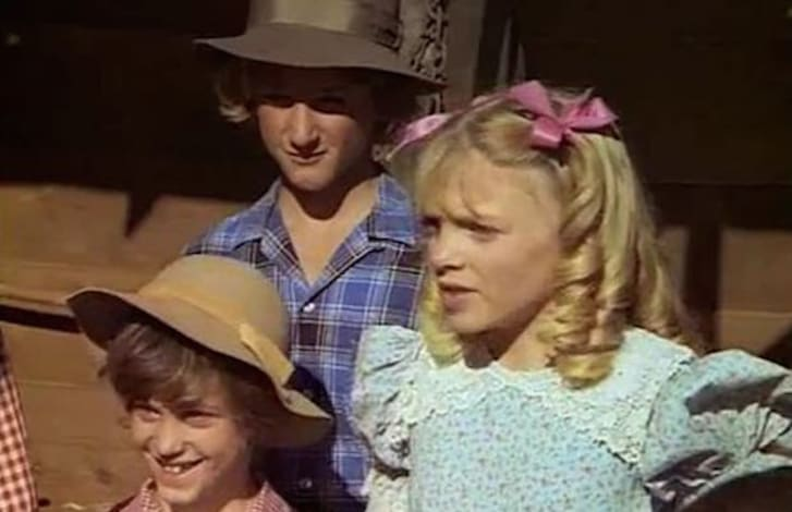 Sean Penn appears in 'Little House on the Prairie'