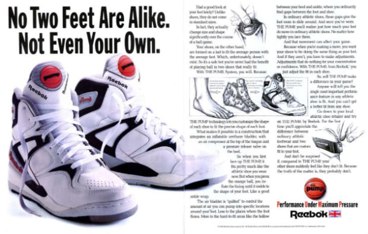Charles Keasing loco Bocadillo  Adjusted for Inflation: A History of the Reebok Pump   Mental Floss