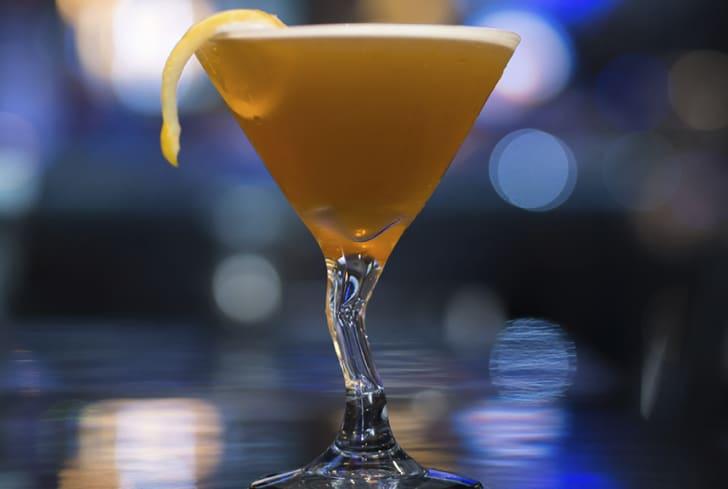 A sidecar drink