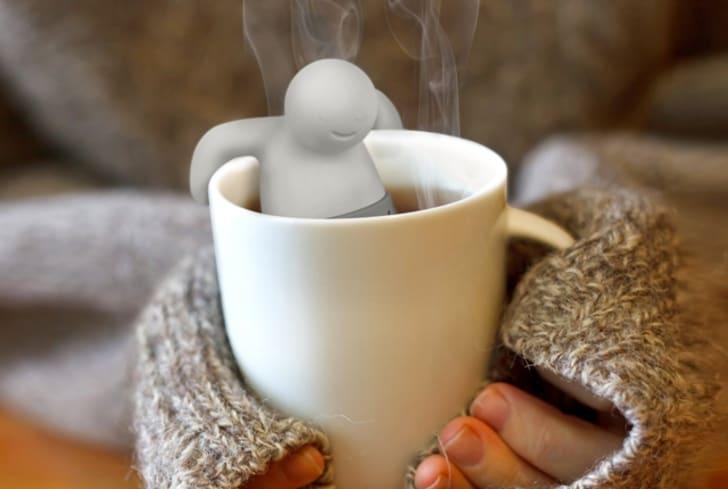 man-shaped tea infuser