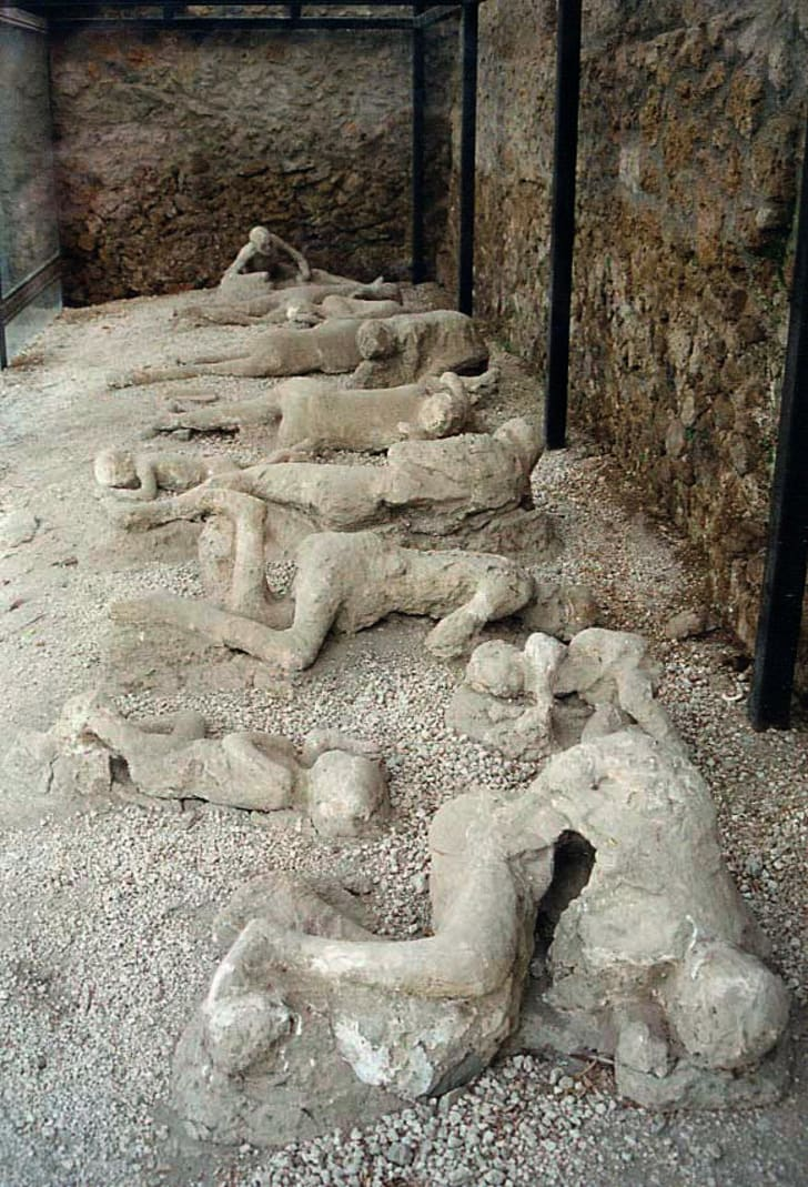 Garden of the Fugitives, Pompeii