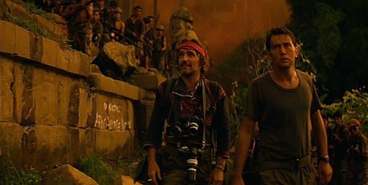Dennis Hopper and Martin Sheen in 'Apocalypse Now' (1979).