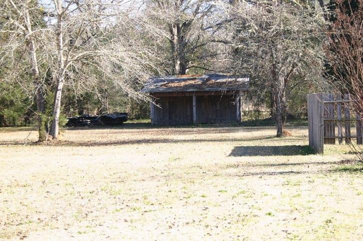 A building in Cahawba, Alabama