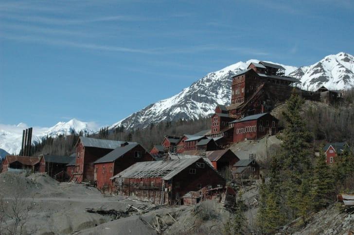The Kennicott copper mine complex