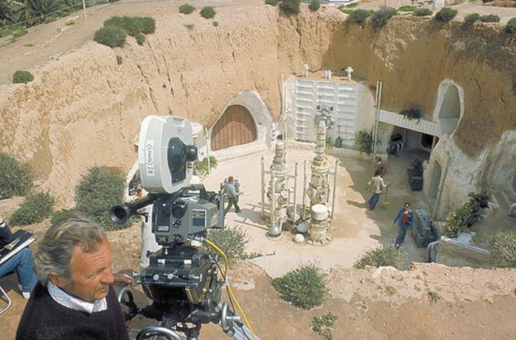 Tunisia's Hôtel Sidi Driss was used as a location in Star Wars
