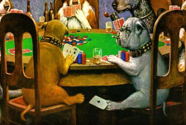 15 Things You Should Know About Dogs Playing Poker | Mental Floss