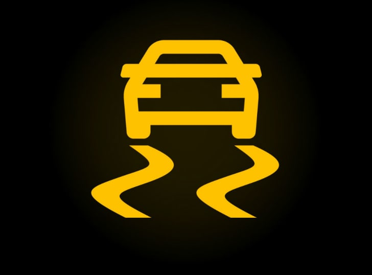 Car dashboard's traction control
