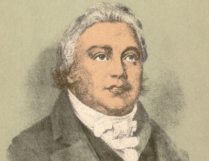 An illustration of Samuel Taylor Coleridge