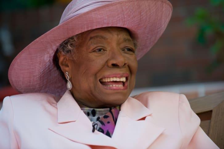 A photo of Maya Angelou