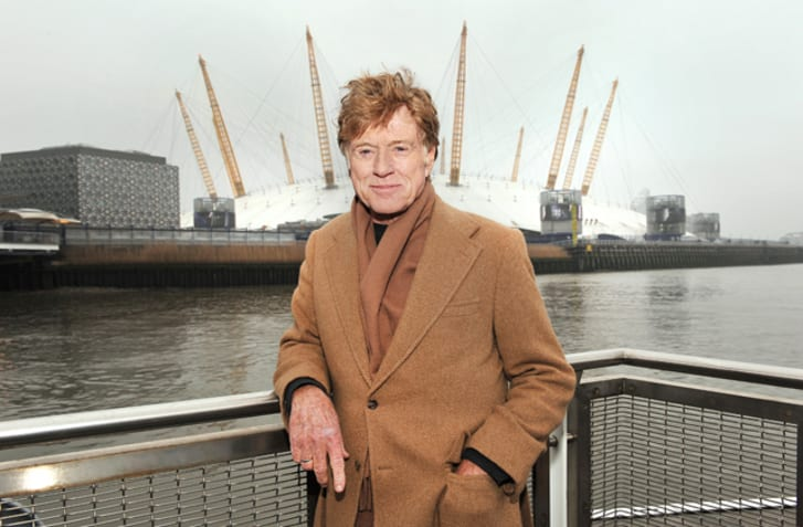 A photo of actor Robert Redford