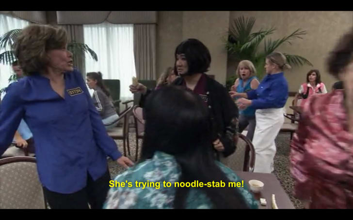 A screen grab from 'Arrested Development'