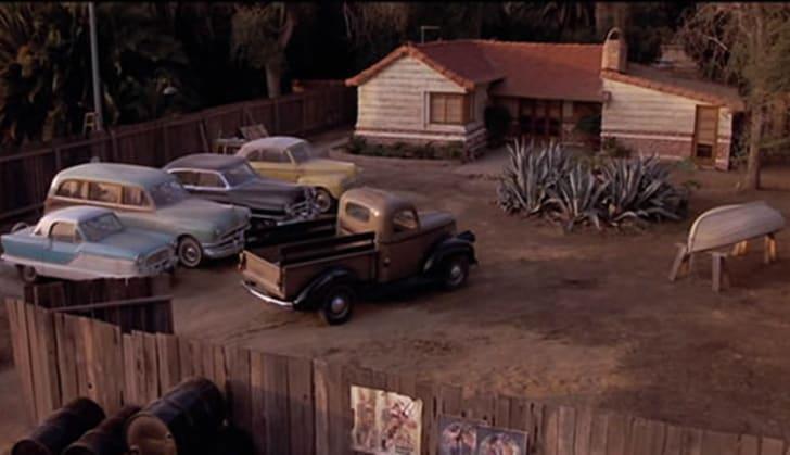 Mr. Miyagi's home in The Karate Kid (1984).