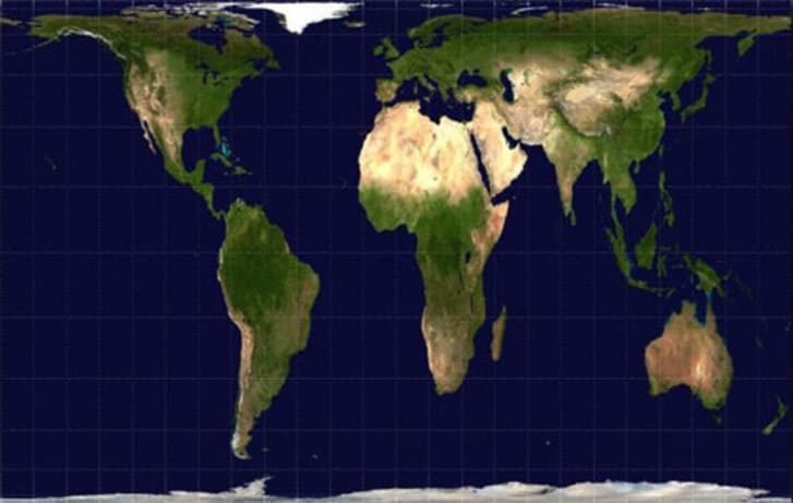 The Actual Size of Greenland | Mental Floss on world map projections, world map zoom out, world globe with compass, world flat earth map, world map by population, world map correct size, world map showing all countries, world map dimensions, world map bedroom decor, world map accurate size, map of the world by size, world map dual monitor wallpaper, world map clear view, united states map true size, world map adjusted for population, world map of the wall, world map group, world map one page,