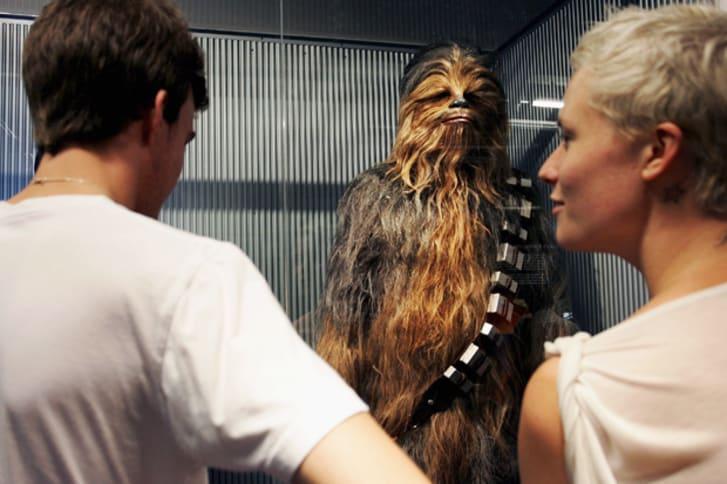 Chewbacca's costume