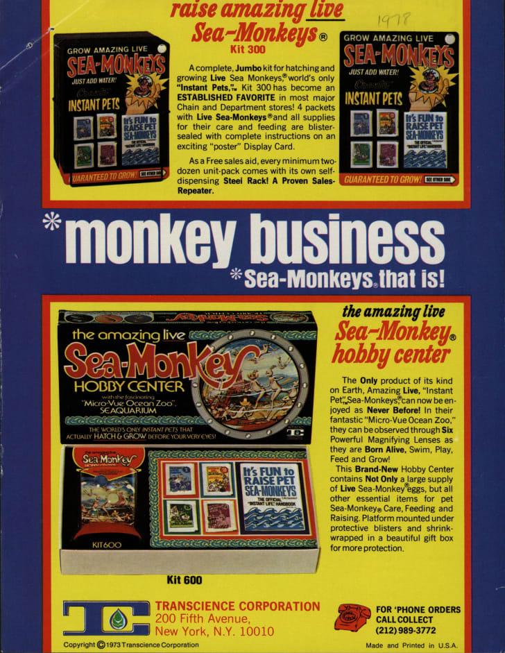 Trade publication ad circa 1973.