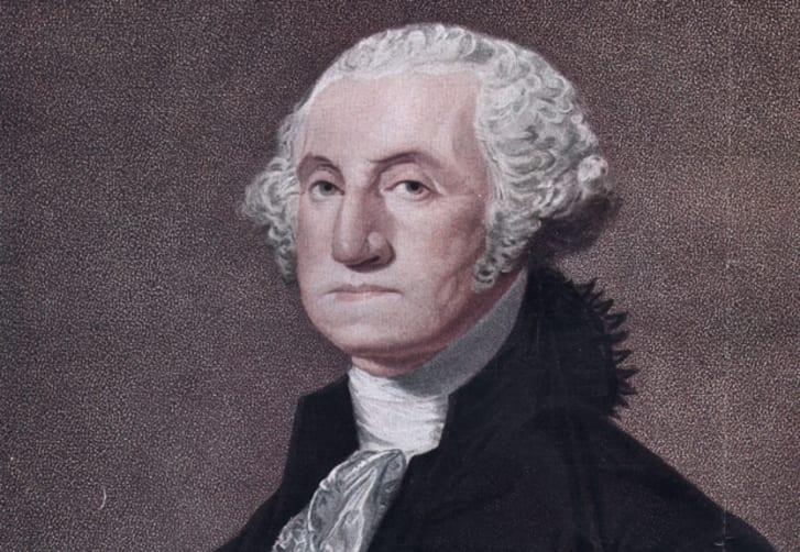 Painting of George Washington