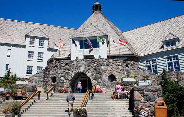 The Timberline Lodge, as seen in 'The Shining'