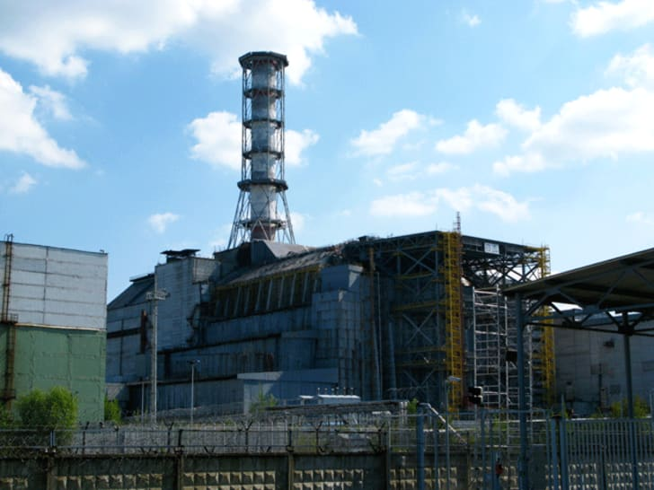 A photo from inside Chernobyl