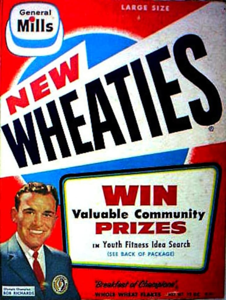 A Brief History of The Olympics, According to 13 Wheaties Boxes | Mental  Floss