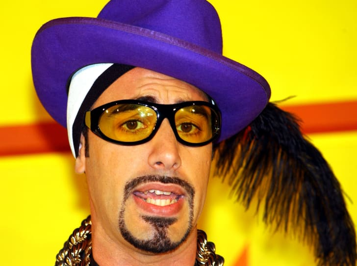 Ali G at the MTV Europe Music Awards press conference