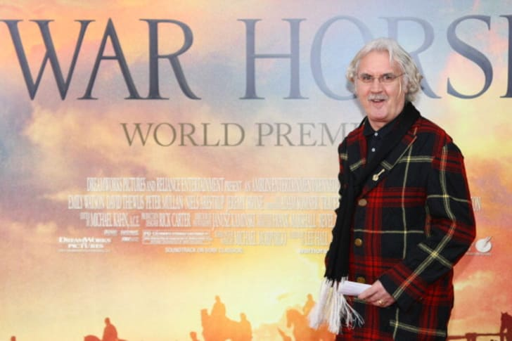 Comedian Billy Connelly attends the 'War Horse' world premiere at Avery Fisher Hall at Lincoln Center for the Performing Arts on December 4, 2011 in New York City