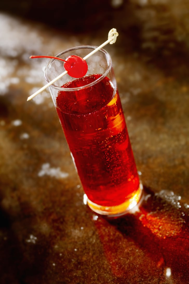 A Shirley Temple drink