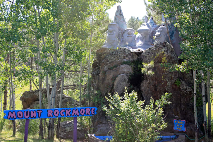 A view of Bedrock City