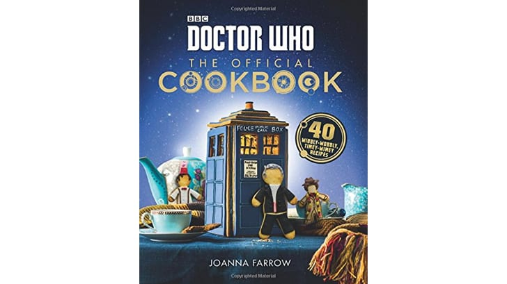 The cover of the 'Doctor Who' cookbook
