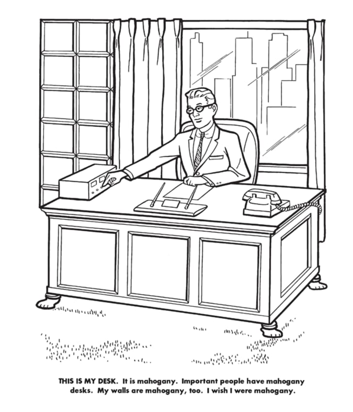 - Take The Whimsy Out Of Your Favorite Pastime With This Super-Serious 'Executive  Coloring Book' Mental Floss