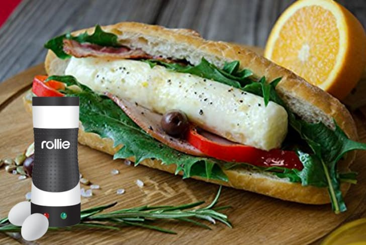 An egg sandwich