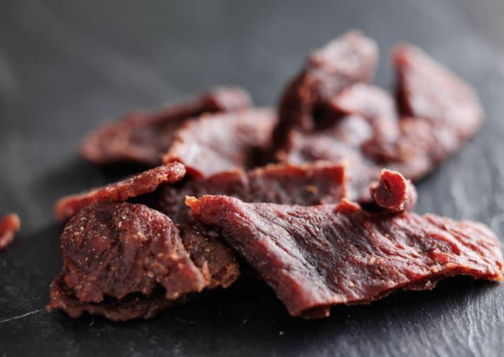 Photo of beef jerky