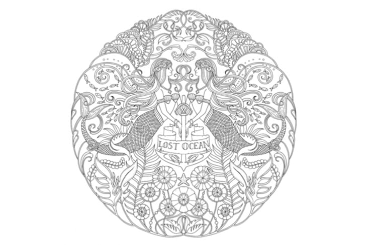 10 Intricate Adult Coloring Books To Help You De-Stress Mental Floss